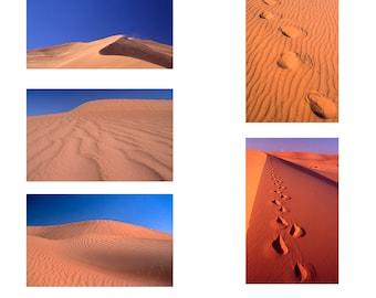 Desert Sands Series 1  A6  set of 5 Note Cards
