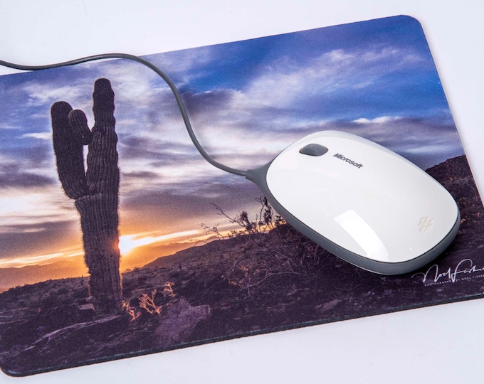 Mouse Mat. Arizona Desert Cactus