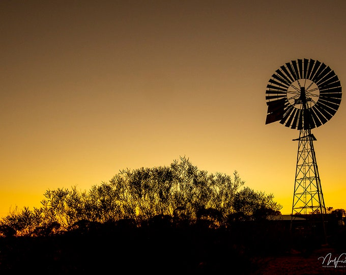 Australian Outback sunset Photographic Wall Art