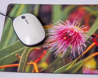Mouse Mat. Gumnut Flower.