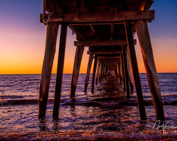 Largs Bay Pier Photographic Wall Art