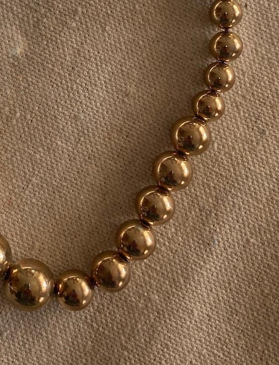 Vintage Graduated Bead Necklace   Vintage Dainty … - image 3