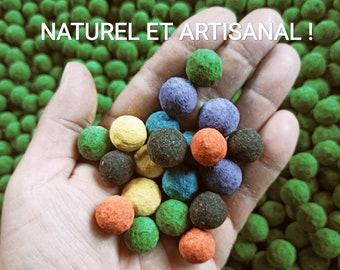 Seed bombs BULK x50 - x500- MULTICOLORED - Flower bombs - seedbombs -