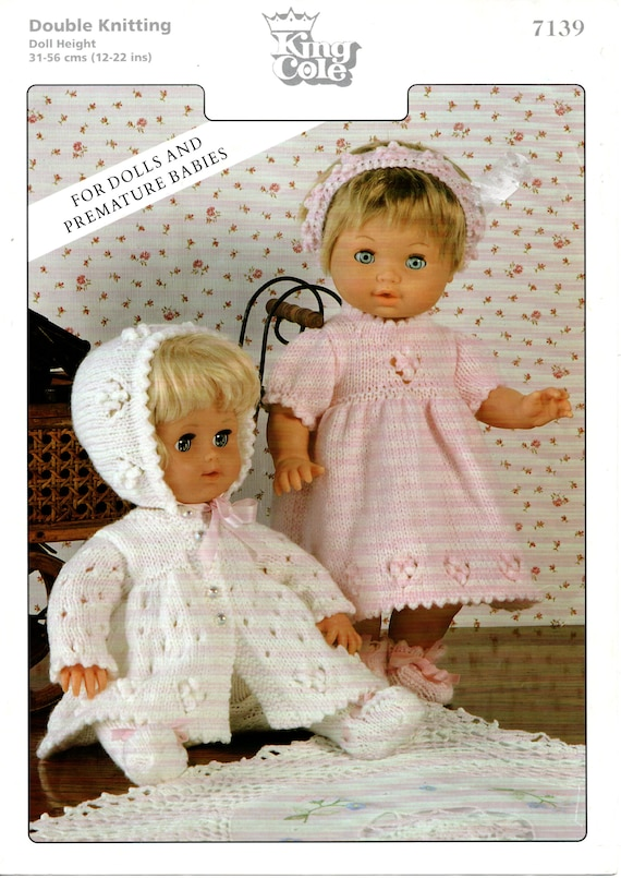 100 12-22 inch Fashion Dolls Clothes /& Teddy Knitting Patterns Collection CD