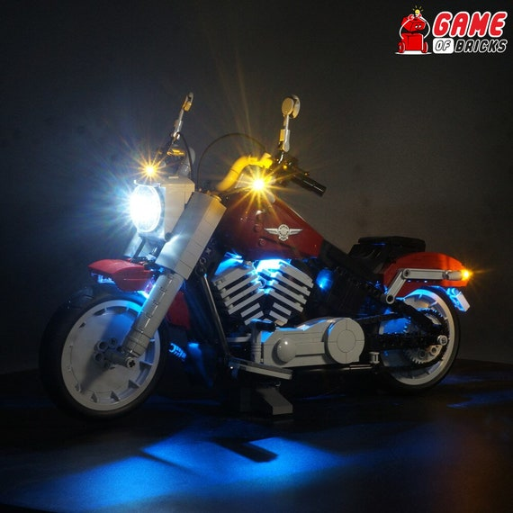 Australia Top Rated Seller LED Light Kit  for LEGO Harley-Davidson FatBoy 10269