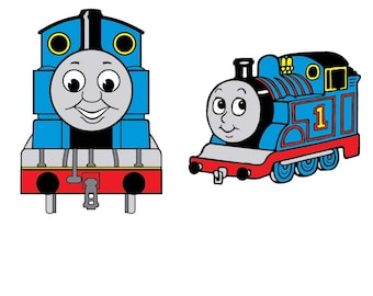 image relating to Thomas the Train Face Printable identify Thomas the practice svg Etsy