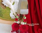 Marsala Wedding Cake Cutting Set, Ivory Cake Cutting Set, Engraved Server Knife Set of 2 Bride and Groom, Burgundy Cake Server and Knife