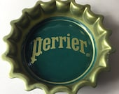 A Delightful Vintage Porcelain Trinket Ring Jewellery Dish in the form of a Perrier Bottle Top