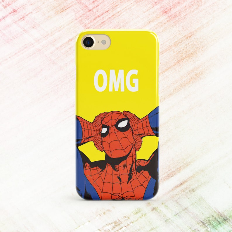 finest selection 3d7e4 156f1 Spiderman case Inspired by Marvel case Samsung S8 case Galaxy S9 case  Marvel Comics iPhone 8 case iPhone X case iPhone 7 case iPhone 6 Plus