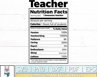 Nutritional Etsy