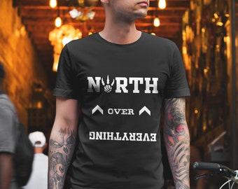 22b3ea9cb49 Toronto Raptors North Over Everything Shirt, Kawhi Leonard, NBA Finals  Unisex T-Shirt
