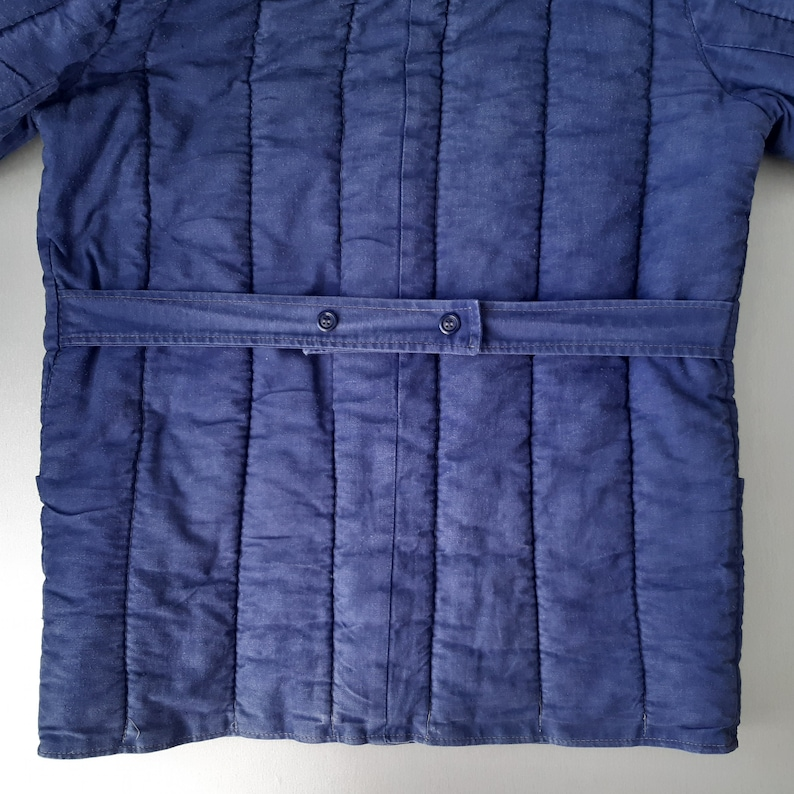 Vintage eco clothing excellent condition movies props Padded jacket for men of Soviet times is made of environmentally friendly materials