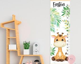 Giraffe Growth Chart Etsy