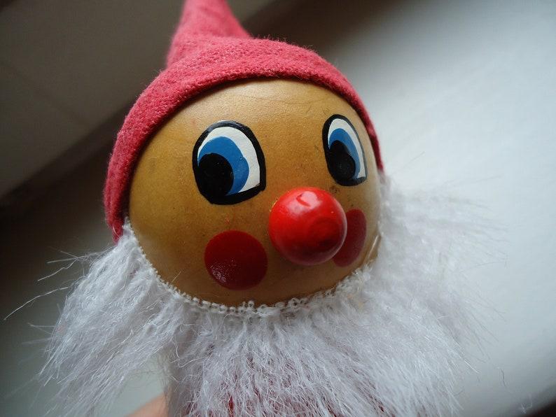 Old German Vintage DDR Christmas Gnome Original Erzgebirge Wooden Figurine Man Christmas and Advent Home Decor