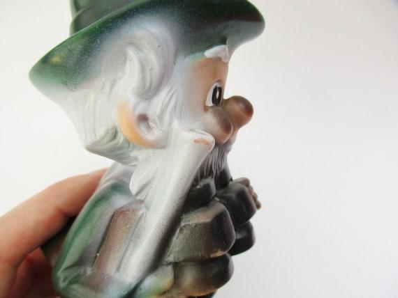 Lovely Small German Vintage Garden gnome Hunter with Gun, Gardendwarf  Gartenzwerg, Home Decor Item, Outdoor Statue