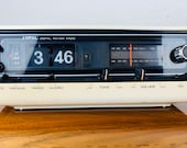 COPAL RD 700 - Folding Numbers Radio Alarm Clock- Mid Century Space Age Watch