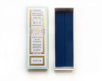 Otowa Waterfalls by Kungyokudo Incense Sticks   Room Deodorizer   Japanese Incense   Indoor Air Freshener   Room Freshener