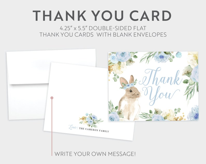Digital or Printed Some Bunny is Turning One Any Age Blue Floral Greenery Easter Boy or Girl First 1st Birthday Party Invite Invitation