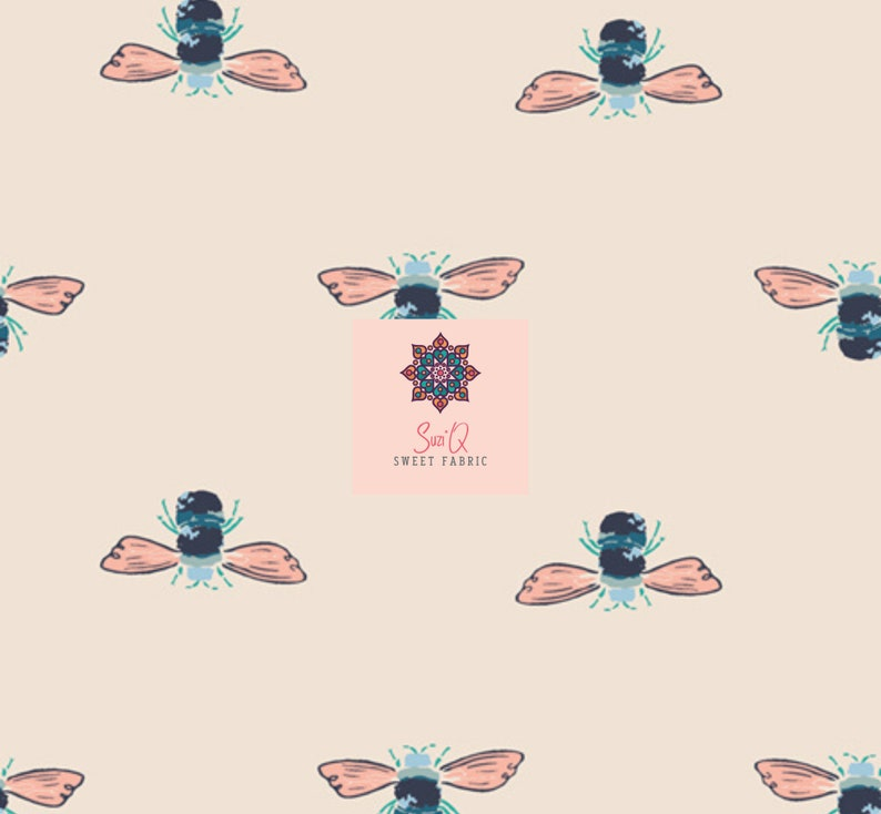Art Gallery 100/% Premium Cotton Fabric*  Bumble Forester from Little Forest Fusion Collection Sold by the 12 Yard
