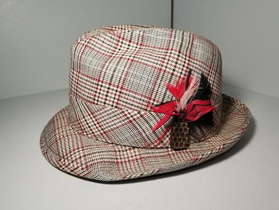 Vintage Trilby Fedora hat