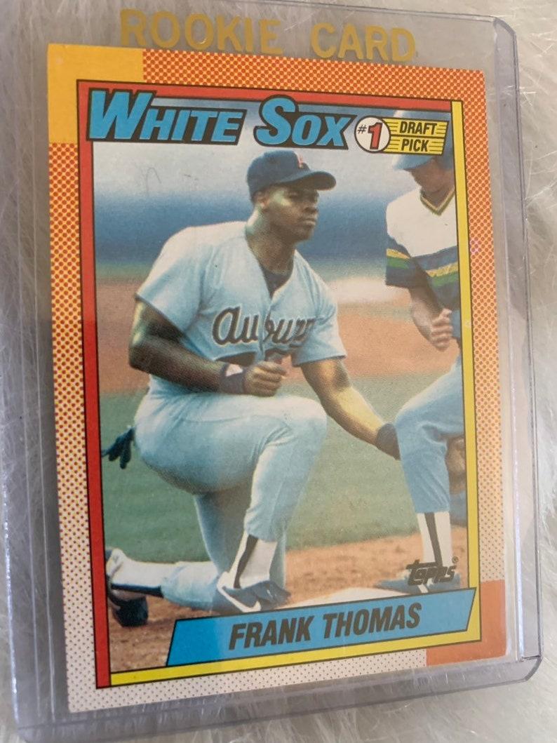 1990 Topps Frank Thomas Rookie