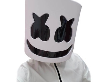 Back To Search Resultstoys & Hobbies Marshmello Helmet Dj Mask Face Hat Music Fans Concert Props Helm Action Figures Pvc Collection Model Toys Gifts
