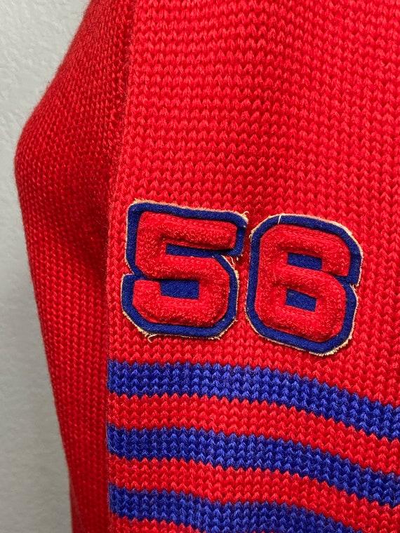 1956 authentic choir letterman's sweater 1950s le… - image 3