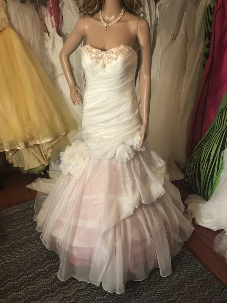 Dip Dye Essence Wedding Dress
