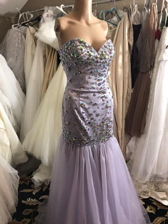 Gown dress Lilac Goddess