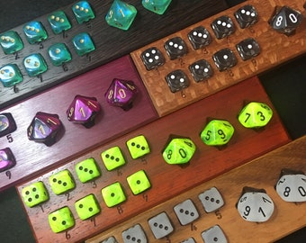 Duo Dice Spell and HP Trackers for DND5e