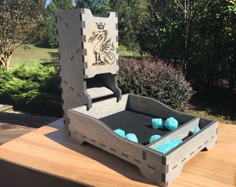 Dice Tray and Dice Tower