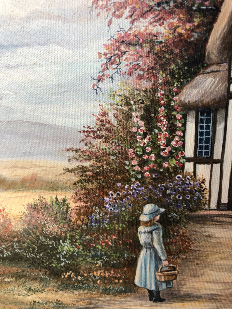 home decor Oil painting England by Marvin Warbler