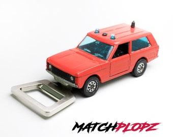 VW 181 Cabrio Bottle Opener Toy Car from MATCHPLOPZ vintage Retro Gift Birthday Present Friend Man red