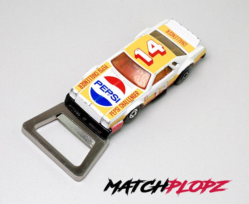 CHEVY Pro Stocker Pepsi Bottle Opener Toy Car from MATCHPLOPZ image 0