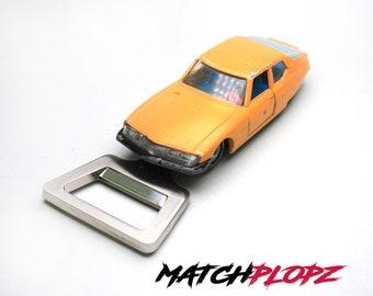 CITROEN S.M. Bottle Opener Toy Car from MATCHPLOPZ vintage Retro Gift Birthday Present Friend Man orange