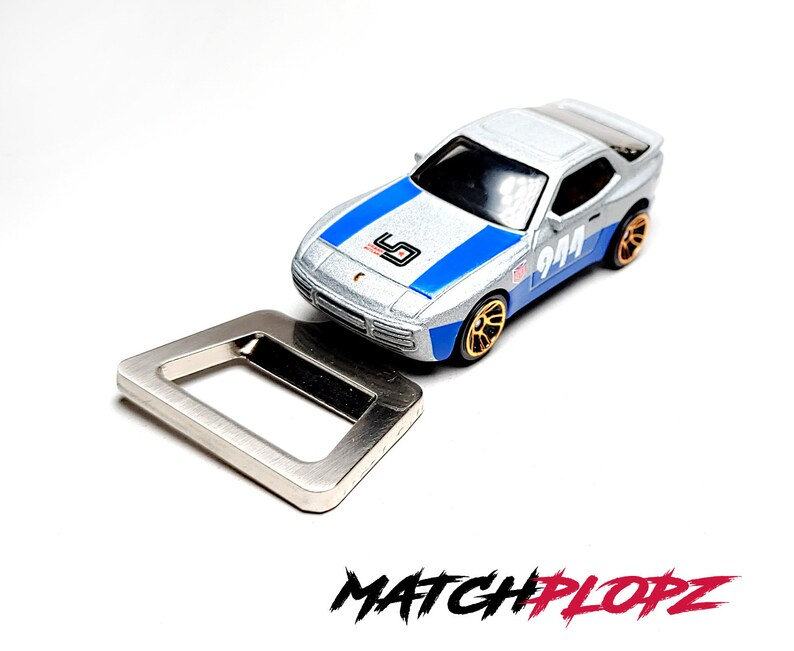 PORSCHE 944 Turbo Bottle Opener Toy Car from MATCHPLOPZ image 0