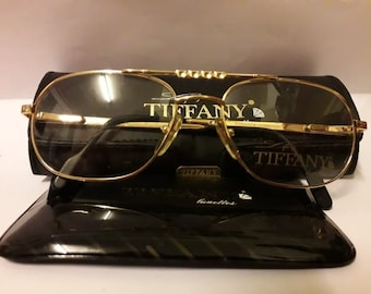 b6758c8eed1a Vintage tiffany gold plated 23k glasses