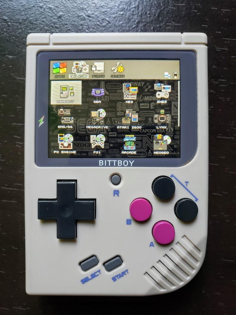 Bittboy Retro Handheld 6000+ Games Portable Like Retropie, Game Boy,  Raspberry Pi 3, B+ (NES, SNES, GameBoy, Gba, Sega, Neo Geo, Atari)