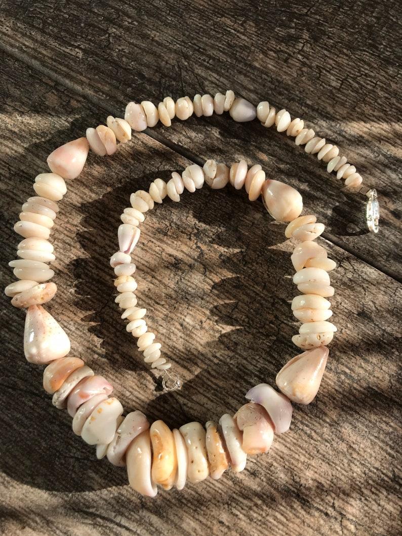 Puka shell lei is the perfect Hawaiian heirloom jewelry