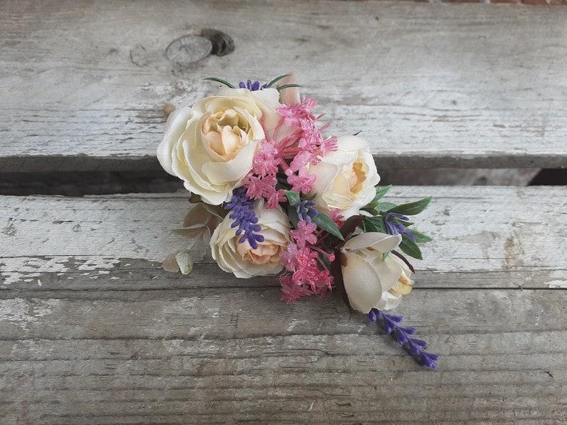 wild flower corsage  etsy