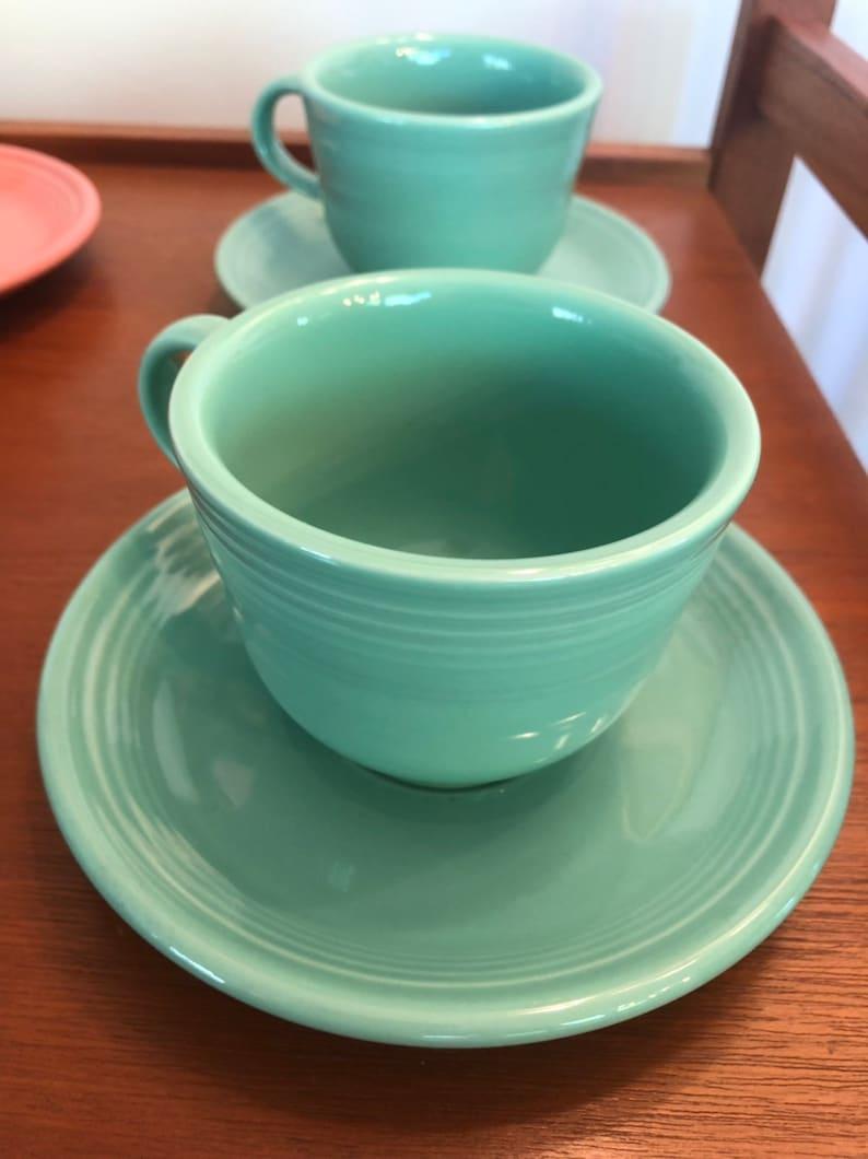 Vintage fiestaware colors