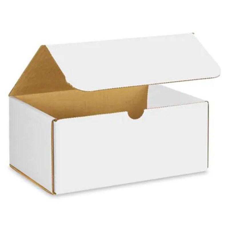 White Mailer Cardboard Box