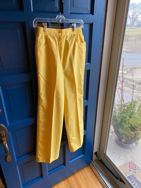 Vintage Koret of California yellow pants
