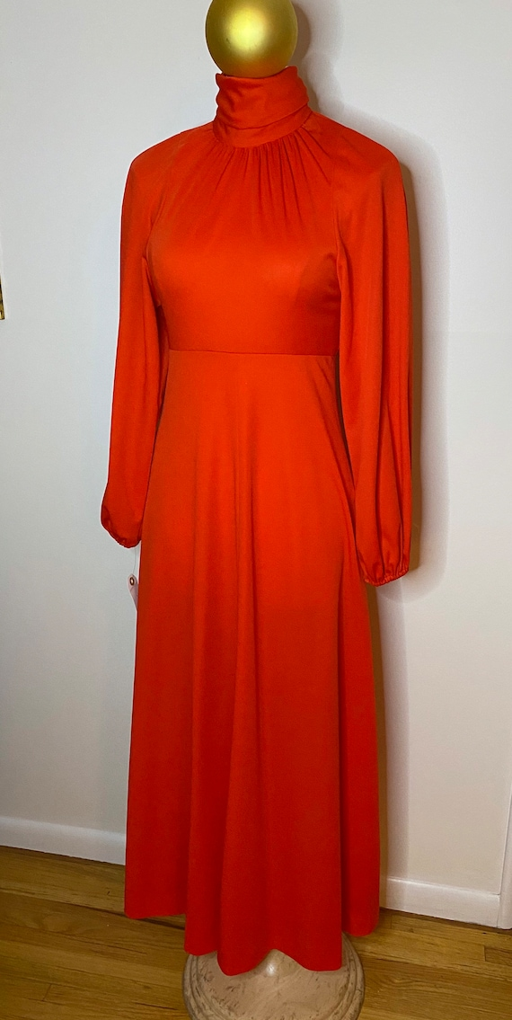 Vintage Clobber of London by Mindy Malone, NY. Red