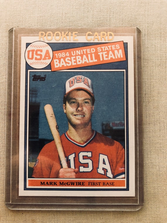 Mark Mcgwire 1985 Topps Rookie Card 401