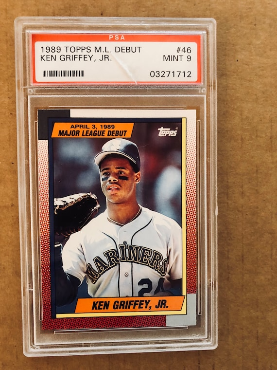 Ken Griffey Jr 1989 Topps Rookie Card 46