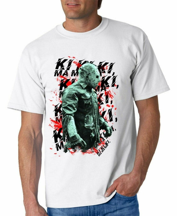 jason voorhees tshirt horror film t shirt print art classic movie friday 13th camp crystal