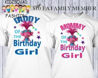 48a34c6c8 10.00 Troll family shirts, Trolls Mom Shirt, Trolls tutu, Trolls birthday  shirt, Trolls Custom Shirt, Trolls Dad Shirt, Trolls Birthday tutu