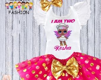 08efe8b777 LOL Dolls Inspired Birthday Outfit