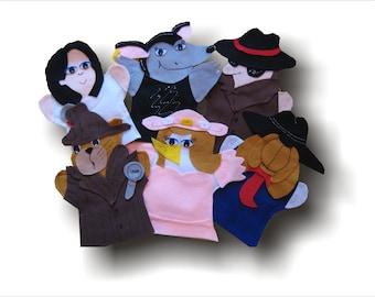 Chat Angora, Chat Angora Puppets, AIM Language Learning, Chat Angora - Animatrice, Chat Angora, Charlie, Wanda, Mme Rat, M. Mystérieux